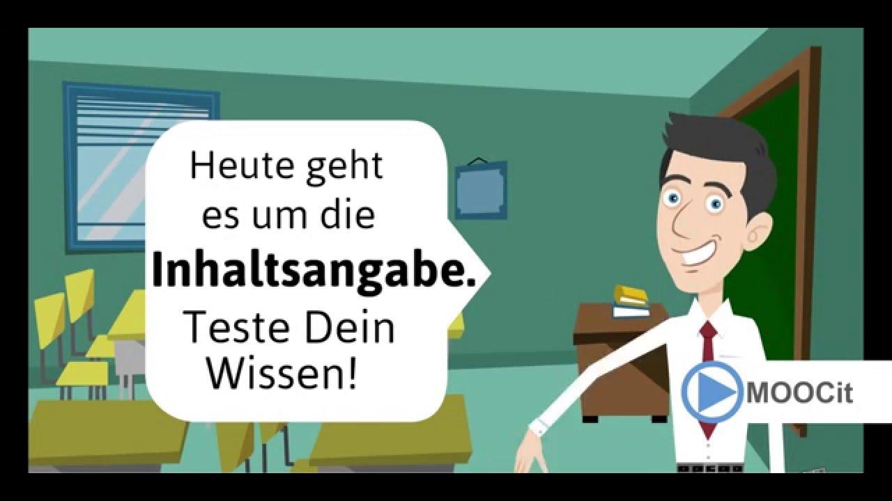 Deutsch Inhaltsangabe Schreiben Teste Dein Wissen Prüfung