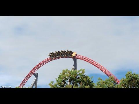 Foxy : Nolimits 2 Accelerator Coaster
