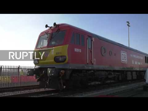 UK: First direct freight train arrive in London from China