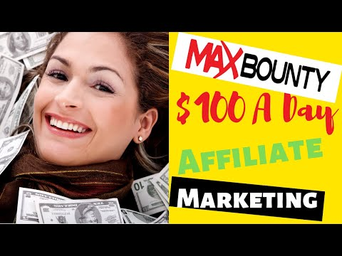 Maxbounty Affiliate Marketing $100 A Day Strategy | Step By Step CPA Marketing thumbnail