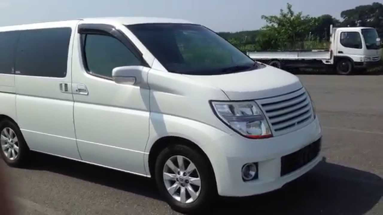 2005 NISSAN Elgrand Leather Edition @ Edward Lee's