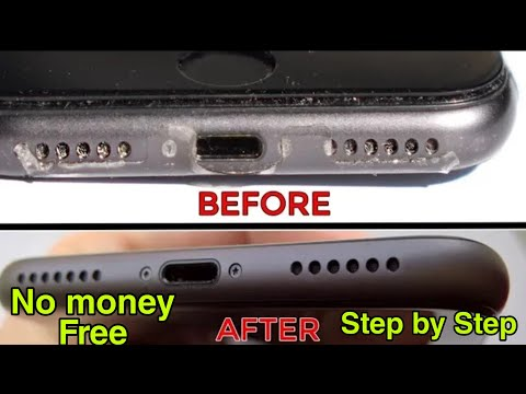 How to Clean Dust from iPhone Speaker Grills at Home