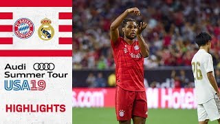 Gnabry secures royal victory over Madrid | FC Bayern vs Real Madrid 3-1 | Highlights - ICC 2019
