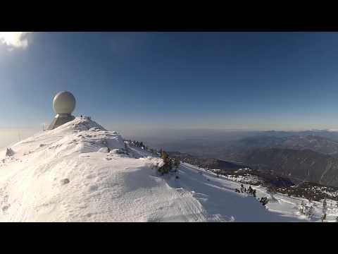 Panorama, Mont Ventoux - Février 2015 (GoPro)