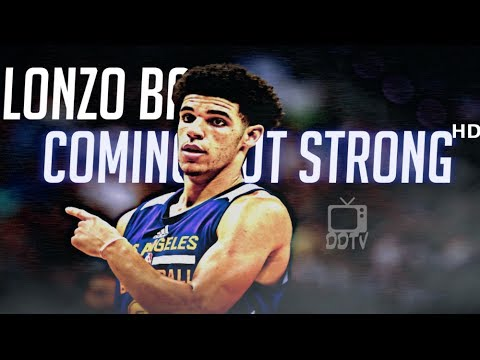 Lonzo Ball 2017 Summer League MVP Mix - Coming Out Strong