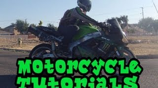 How To Ride A Motorcycle: Episode 1 - Taking Off From A Stop And Shifting / Downshifting Tutorial