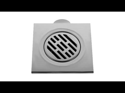 Запах из канализации, душевой трап 150 на 150, срывает гидрозатвор