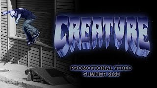 Eye-Shattering Graphics and Jaw-Dropping Skateboarding | Creature Summer 2020 Promo