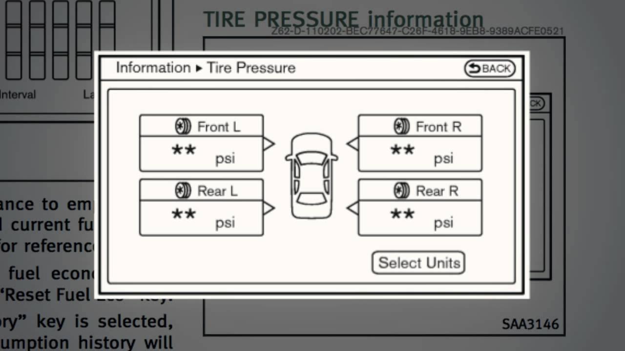 Tire Pressure Monitoring System >> 2014 Infiniti QX80 - Tire Pressure Monitoring System (TPMS) with Tire Inflation Indicator - YouTube