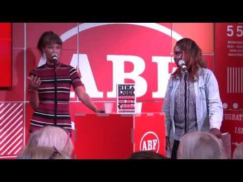 """Nina Björk - """"Drömmen om det röda - Rosa Luxemburg, socialism, språk och kärlek"""""""