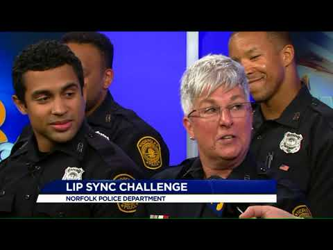 Norfolk Police talk about viral lip sync video