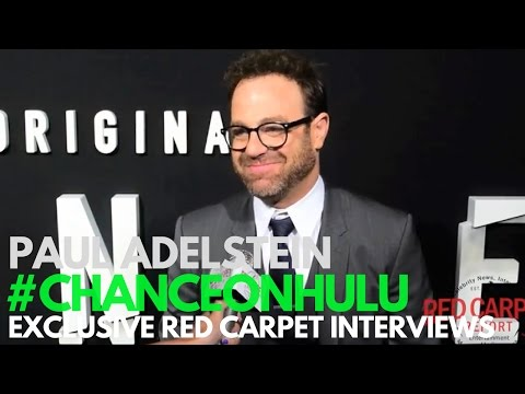 "Paul Adelstein interviewed at the Red Carpet Premiere of ""Chance"" on Hulu"