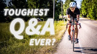 I cycled for 20 HOURS while answering YOUR QUESTIONS!