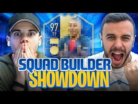 SQUAD BUILDER SHOWDOWN con TEAM OF THE YEAR!!! - Enry Lazza vs Fius Gamer | FIFA 19 ITA