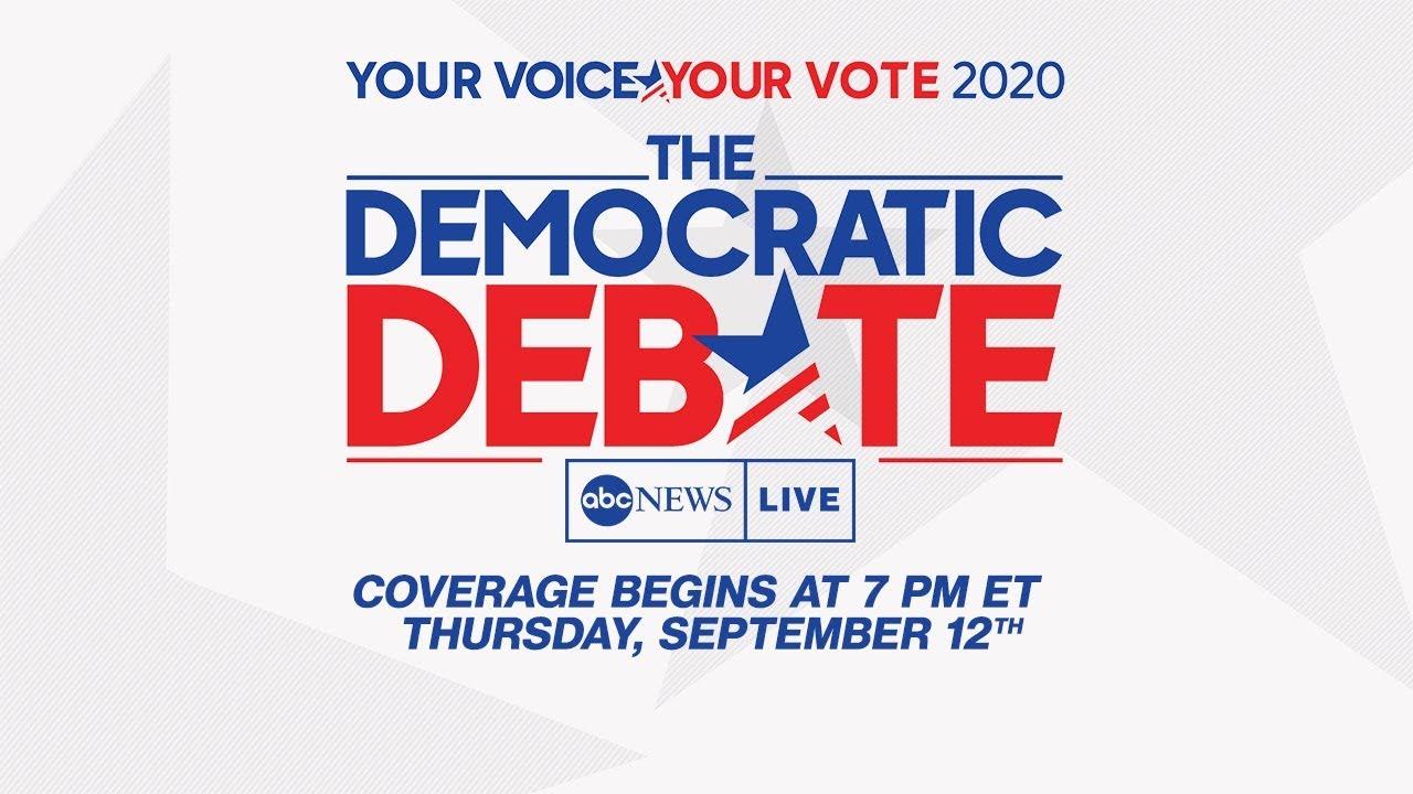 Democratic Debate 2019: WATCH LIVE Third 2020 Democratic Presidential Debate from Houston | ABC News