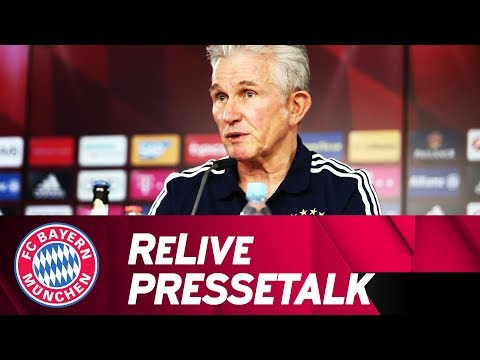 FC Bayern-Pressetalk mit Jupp Heynckes | Eintracht Frankfurt - FC Bayern