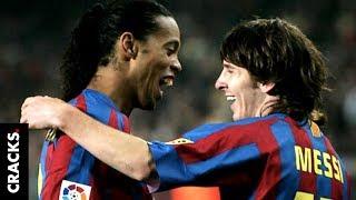 Ronaldinho se convirtió en el
