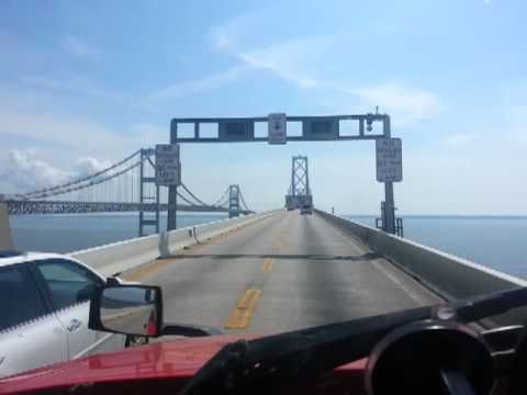 This is how toll is paid for the Bay Bridge in Md
