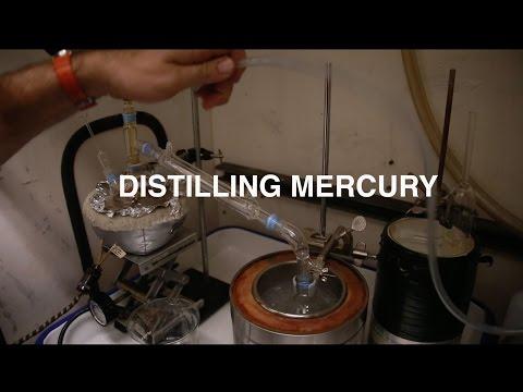 Turning hazardous waste into clean Mercury (Hg), ready for distillation (Part 2)