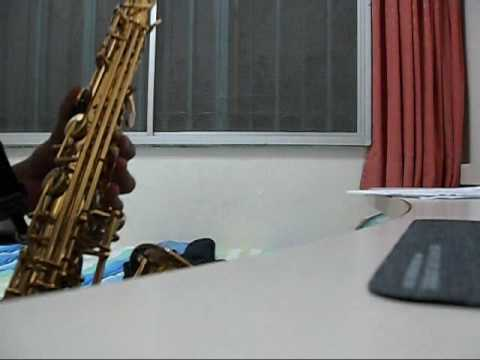 Theme Song from Star Wars in Alto Saxophone