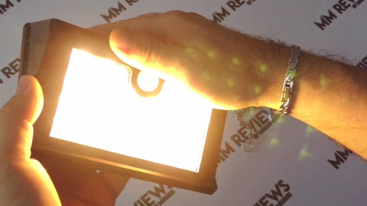 Recensione lampada da esterno solare con sensore di movimento