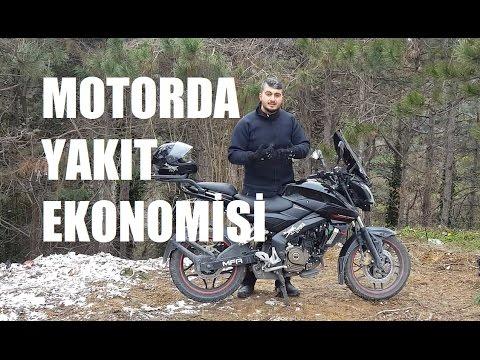Motosiklette Yakıt Ekonomisi