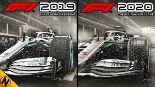 F1 2020 vs F1 2019 | Direct Comparison