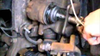 Peugeot 407 kontrola a rozpohybování pístků brzových třmenů