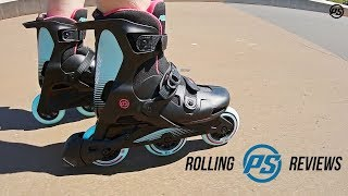 Powerslide One Wave Blue and Pink skates - Rolling Reviews