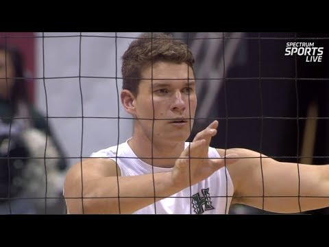 Hawaii Warrior Men's Volleyball 2018 - #7 Hawaii Vs UC San Diego