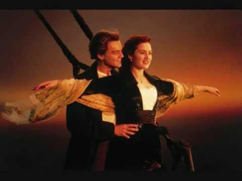 Tema romântico do filme Titanic (Céline Dion - My Heart Will Go On)