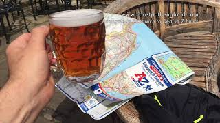 Walking Ramsgate to Sandwich to Deal - England Coast Path - Day 1