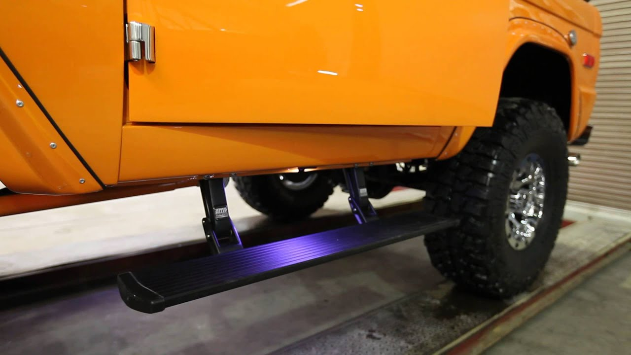Clic Ford Bronco Step Bars