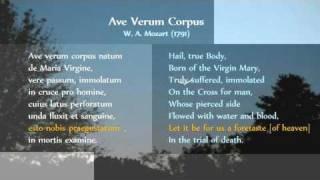 Mozart Ave Verum Corpus K.618