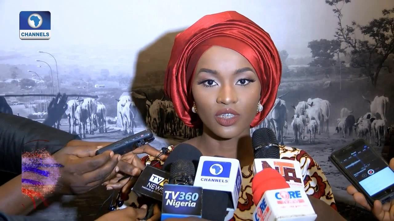 Download Buhari's Youngest Daughter,Hanan Hosts Photo Exhibition 'Vangi' Pt.1 |Art House|