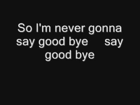 KARAOKE-BILLY PRESTON-I'M NEVER GONNA SAY GOODBYE