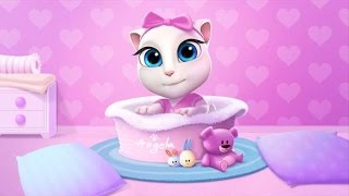 My Talking Angela Level 300 Vs. Level 3000 - Gameplay Great Makeover for Kids HD