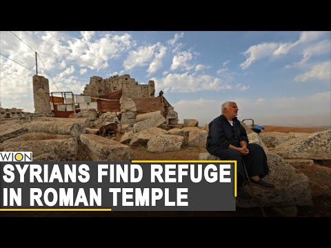 WION Fineprint: Displaced Syrians settle on ruins of Roman temple | Greek God Zeus | World News