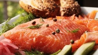 Scandinavian Gravlax - Salmon Recipe || KIN EATS
