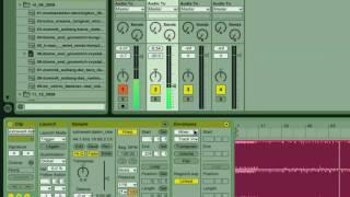 Ableton. Аудио-каналы и клипы. Глава 2-я
