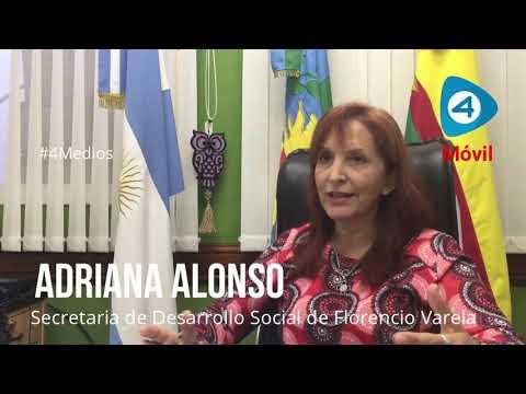 """Adriana Alonso con Cuatro Medios: """"Nuestra población se está empobreciendo"""""""