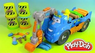 Pâte à modeler Play Doh Camion de chantier Diggin' Rigs Buzzsaw