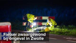 Fietser zwaargewond bij ernstig ongeval Oude Wetering Zwolle - ©StefanVerkerk.nl