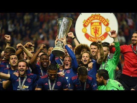 Incredible man united - glory manchester united - europa league 2017 celebration full hd
