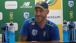 Proteas vs Sri Lanka -1st ODI  - Pre Match - Faf du Plessis