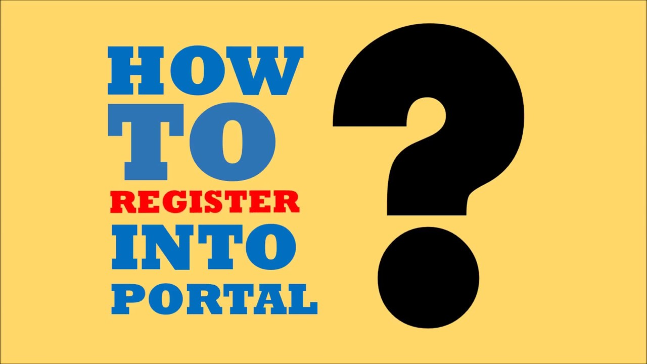 Akpk Faq How To Register Into Portal Youtube