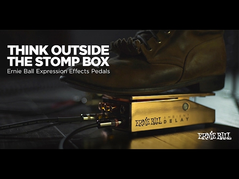 Ernie Ball Ambient Delay And Expression Overdrive Expression Pedals (Daniel Donato Demo)