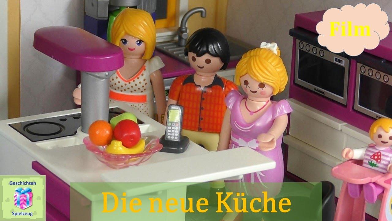 Playmobil Film Deutsch DIE NEUE KÜCHE ♡ Playmobil Geschichten Mit Familie  Miller   YouTube