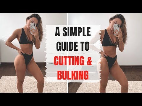 CUTTING VS. BULKING, Which one you should be doing?! Simple Guide