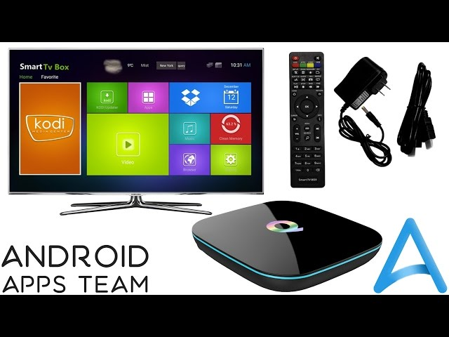 Sunvell Q-Streaming TV Android 5 1 Smart Box 1000M LAN